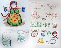 Doll Crafts, Diy Doll, Fabric Dolls, Paper Dolls, Tilda Toy, Homemade Dolls, Fabric Brooch, Angel Crafts, How To Make Toys