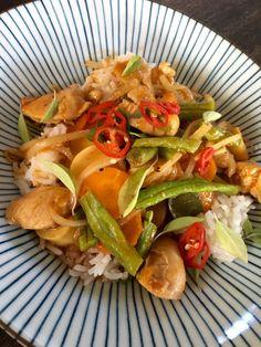 Thai Curry ohne Kokosmilch Gang Kruar Gai Bahn Foodblog German Abendbrot