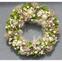 wydmuszki diy - Szukaj w Google Grapevine Wreath, Grape Vines, Floral Wreath, Wreaths, Google, Diy, Home Decor, Homemade Home Decor, Door Wreaths