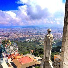 Views from the Tibidabo - Barcelona