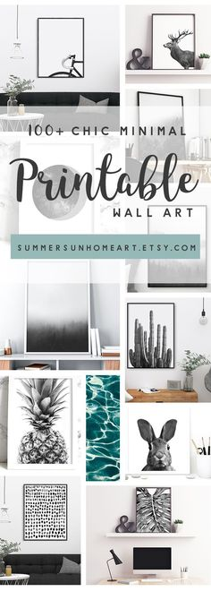 Amazing and affordable art prints from SummerSunHomeArt.Etsy.Com || Home Decor DIY, Home Decor on a Budget, Apartment Decorating on a budget, Apartment Decorating College, Dorm Room Ideas, Dorm Room Decor, Dorm Decor, Wall Decor, Wall Art, Gallery Wall, Tumblr Room Decor DIY, Boho Chic Decor, White Aesthetic, Modern Vintage, Midcentury Modern, Interior Decorating, Scandinavian Interior, Nordic Interior, Home Office Ideas, Workspace, Desk Ideas, Bathroom, Kitchen
