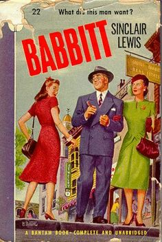 Sinclair Lewis's Babbitt