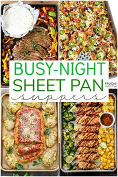 Family-friendly Sheet Pan Suppers Easy dinner recipes for moms on the go FrugalCouponLiving dinners suppers sheetpan dinnerrecipes recipeshealthy easydinnerrecipes easyrecipe sheetpandinners sheetpanrecipes supperideas # Healthy Dinner Recipes, Cooking Recipes, Healthy Supper Ideas, Healthy Suppers, Healthy Family Dinners, Healthy Cheap Meals, Easy Supper Ideas, Whole 30 Crockpot Recipes, Quick Family Meals