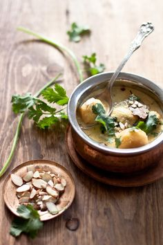 Dum Aalu - Spicy Indian Bite Size Potatoes In Yogurt Gravy
