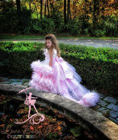 A Moment Remembered... An Exquisite Feather Dress With #Removeable Train & Bustle - $279.00 :: Love Baby J Boutique - Welcome to Love Baby J Couture - Boutique Clothing For Girls .     http://www.lovebabyj.com/pages/wholesale