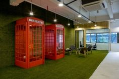 Infocomm Investments - Singapore Offices