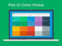 Flat UI Color Picker designed by Ahmet Sülek. Connect with them on Dribbble; Design Web, Web Design Trends, Web Design Company, Flat Design, Graphic Design, Flat Color Ui, Ui Color, Custom Website Design, Website Design Services