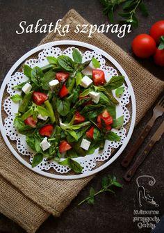 Kulinarne przygody Gatity: Ziołowa sałatka ze szparagami
