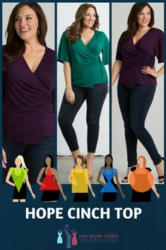 0eba12266181d This Hope Cinch Top is perfect for the following body types  Hourglass
