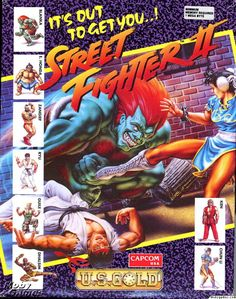 Street Fighter II for the Amiga because why not!?