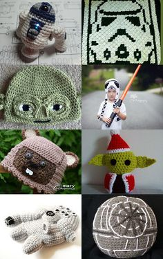 Star Wars Crochet LUV by Hookin' to the Beat