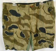 443a6abc1330a Details about O'Neill TRXLR Hybrid Series Mens 38 Green Camon Cargo Board  Shorts Swim Trunks