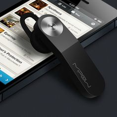 MIPOW Wireless Bluetooth HeadSet Stereo Headphone Earphone for iPhone Samsung LG | eBay