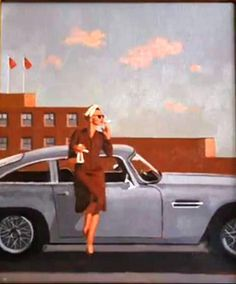vettriano paints kara tointon - Google Search