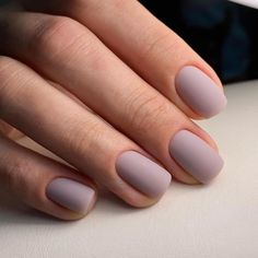 Matte Gel Nails, Nude Nails, Square Acrylic Nails, Best Acrylic Nails, Coffin Nails Designs Summer, Color Mate, Classy Nail Designs, Minimalist Nails, Classy Nails