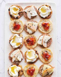 Cheddar-and-Gruyere Crackers | Martha Stewart Dec 2014
