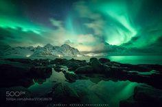Lofoten Lights by raphaelmessmer