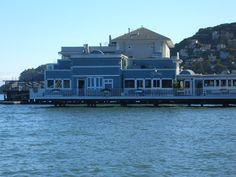 Scoma's restaurant in Sausalito, CA -