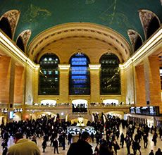 Grand Central Terminal, This 75-minute tour, led by MAS docents, highlights the history, architecture and operation of the world's largest train terminal. $20 Adults