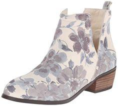 Sbicca Women's Rosette Boot, Beige/Multi, 6 B US Sbicca http:/