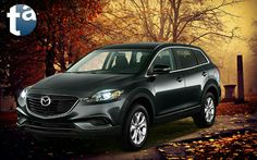 075 - AUTUMN LEAVES #MAZDA Sport #SUV - CX 9 #CX9 Front-Wheel Drive FWD 2014 - SKYACTIVE TECHNOLOGY