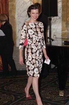Mila Jovovich. #modest.