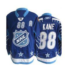 1b5c37924 Patrick Kane Jersey - Buy 100% official Reebok Patrick Kane Men's Authentic  2011 All Star Blue Jersey NHL Chicago Blackhawks #88 Free Shipping.