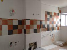 #ladrilho #ladrilhohidraulico #semestampa #mosaico #cozinha
