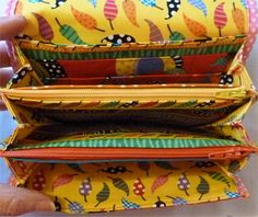 Multi Compartments Wallet Purse