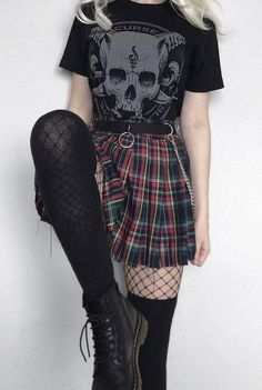 Style Outfits, Indie Outfits, Edgy Outfits, Cool Outfits, Fashion Outfits, Cute Punk Outfits, Goth Girl Outfits, Soft Grunge Outfits, Pastel Goth Outfits