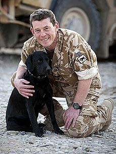 UK Soldiers Rally to Move Beloved Dog Out of Afghanistan