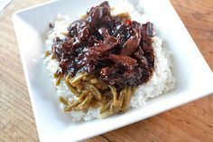 Most delicious Babi Ketjap Diner Recipes, Spicy Recipes, Pork Recipes, Slow Cooker Recipes, Asian Recipes, Exotic Food, English Food, Best Dishes, Daily Meals