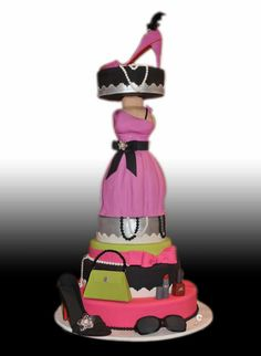 Fashion Themed Cake by Gio's Cakes, via Flickr