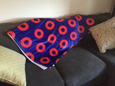 9e4e01d7af327 Velveteen Fleece Plush Throw Blanket Donuts on one side