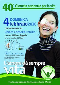 Marsala (Tp), 4 febbraio 2018 – Chiara Corbella Petrillo