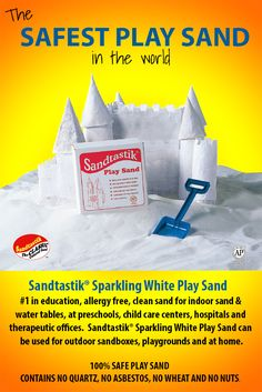 Sand with peace of mind. Imagine children inspired by the simplicity of soft granular sand. Watch as they will dig, pile, sift, compact and more. #1 in education, allergy free, clean sand for indoor sand Kids Outdoor Play, Outdoor Play Spaces, Outdoor Activities For Kids, Toddler Activities, Family Activities, Sand And Water Table, Sand Table, Water Tables