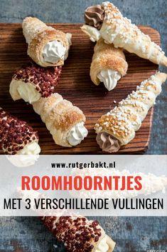 Pastry Recipes, Baking Recipes, Fritters, High Tea, Food Inspiration, Vegan Vegetarian, Nutella, Donuts, Bakery