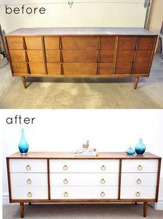 Hässlicher alter Schrank zu Hause?? Dann lass dich von diesen 12 Make-over DIY-Ideen inspirieren - DIY Bastelideen
