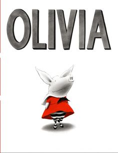 Olivia by Ian Falconer - The main character Olivia is an energetic pig who wears her family out. Ian Falconer captures the busy life of a preschooler with a humorous touch. Art Books For Kids, Best Children Books, Great Books, Childrens Books, Toddler Books, Book Club Books, Book Art, Books To Read, My Books