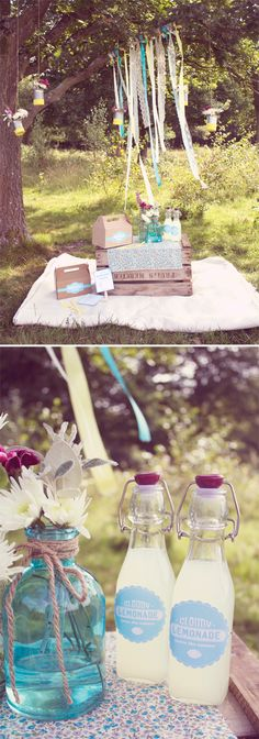 """I love the hanging streamers, I want to make a sign to hang or put up that says """"M Picnic"""" so that when family friends join its easier to find us. :)"""