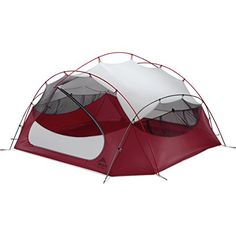 MSR Pappa Hubba NX Tent Red *** Click image for more details. (This is an affiliate link) #CampingTents