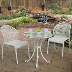 Bali All Weather Wicker Bistro Set for the Parents