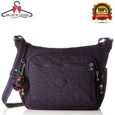 6f6c4bda99f Kipling Gabbie, Women's Cross-Body Bag, Violett (Blue Purple C) | eBay.  Olkalaukku