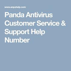 Panda Antivirus Customer Service & Support Help Number