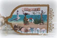 Jenine's Card Ideas: Bloghop DDBD - Vogelkooi