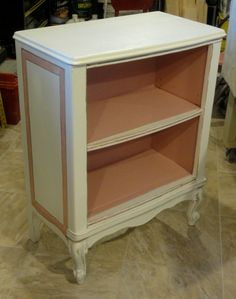 the new little French Provincial bookcase