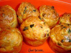 Bouchées thon-échalote-persil