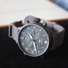 Van der Gang aviator-watch