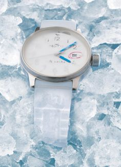 Fortis Frisson: inspired by the condensation of an iced vodka glass just out of the freezer. Limited to 999 pcs