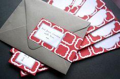 Personalized Envelope Wrap Address L